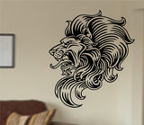 Lion Face Version 111 Sticker Wall Decal Animal King of the Jungle Art Graphic - ezwalldecals  - vinyl decal - vinyl sticker - decals - stickers - wall decal - jdm decal - vinyl stickers - vinyl decals - 1