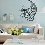 Stars and Stripes Vinyl Wall Decal Sticker Art Graphic - ezwalldecals  - vinyl decal - vinyl sticker - decals - stickers - wall decal - jdm decal - vinyl stickers - vinyl decals - 1