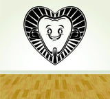 Dentist Dentistry Tooth Sign Version 101 Decal Sticker Wall Boy Girl - ezwalldecals  - vinyl decal - vinyl sticker - decals - stickers - wall decal - jdm decal - vinyl stickers - vinyl decals - 1