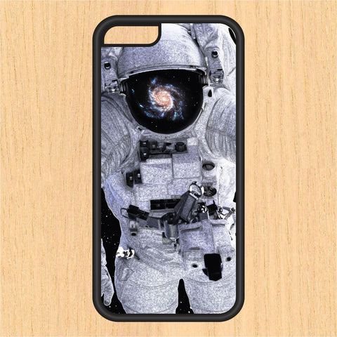 Astronaut in Space PC SEC1 Print Design Art iPhone 4 / 4s / 5 / 5s / 5c /6 / 6s /6+ Apple Samsung Galaxy S3 / S4 / S5 / S6