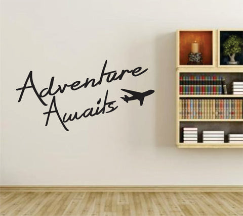 Adventure Awaits Version 102 Wall Vinyl Decal Sticker Art Graphic Sticker - ezwalldecals  - vinyl decal - vinyl sticker - decals - stickers - wall decal - jdm decal - vinyl stickers - vinyl decals - 1