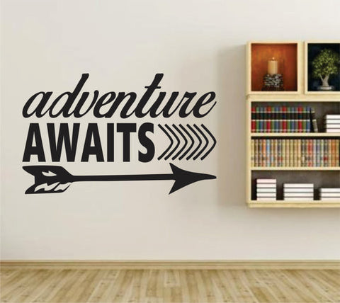 Adventure Awaits Version 105 Wall Vinyl Decal Sticker Art Graphic Sticker - ezwalldecals  - vinyl decal - vinyl sticker - decals - stickers - wall decal - jdm decal - vinyl stickers - vinyl decals - 1