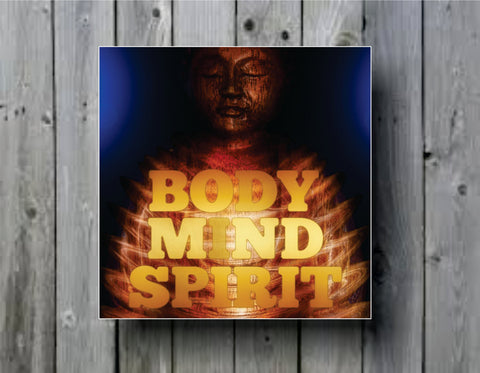 Buddha - Mind - Body - Spirit Art Background Photo Panel - Durable Finish - High Definition - High Gloss