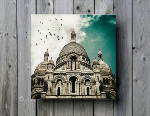 Cathedral Vintage Religious Building Art Background Photo Panel - Durable Finish - High Definition - High Gloss