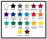 50 Stars Set  Decal Sticker Wall - ezwalldecals  - vinyl decal - vinyl sticker - decals - stickers - wall decal - jdm decal - vinyl stickers - vinyl decals - 2