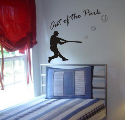 Baseball Player Decal Sticker Wall - ezwalldecals  - vinyl decal - vinyl sticker - decals - stickers - wall decal - jdm decal - vinyl stickers - vinyl decals - 1