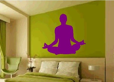 Yoga Wall Decal Sticker - ezwalldecals  - vinyl decal - vinyl sticker - decals - stickers - wall decal - jdm decal - vinyl stickers - vinyl decals - 1