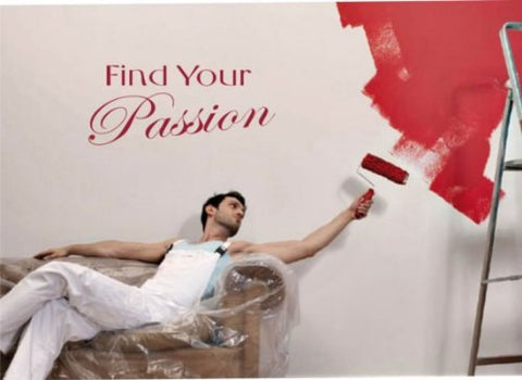 Find Your Passion Quote Decal Sticker Wall - ezwalldecals  - vinyl decal - vinyl sticker - decals - stickers - wall decal - jdm decal - vinyl stickers - vinyl decals - 1
