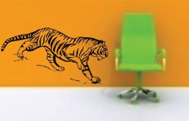 Large Tiger Version 102 Decal Sticker Wall - ezwalldecals  - vinyl decal - vinyl sticker - decals - stickers - wall decal - jdm decal - vinyl stickers - vinyl decals - 1