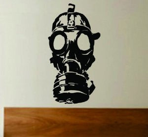 Gasmask Decal Sticker Wall Art Graphic - ezwalldecals  - vinyl decal - vinyl sticker - decals - stickers - wall decal - jdm decal - vinyl stickers - vinyl decals - 1