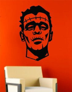 Frankenstein Decal Sticker Wall Art Graphic - ezwalldecals  - vinyl decal - vinyl sticker - decals - stickers - wall decal - jdm decal - vinyl stickers - vinyl decals - 1