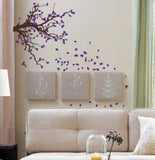 Autumn Tree Branch with Falling Leaves Wall Decal Sticker - ezwalldecals vinyl decal - vinyl sticker - decals - stickers - wall decal - jdm decal - vinyl stickers - vinyl decals - 1
