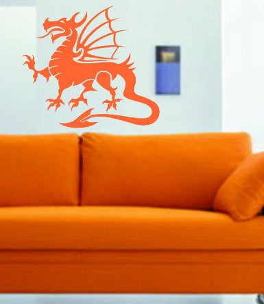 Tribal Dragon Version 101 Decal Sticker Wall Art Graphic - ezwalldecals  - vinyl decal - vinyl sticker - decals - stickers - wall decal - jdm decal - vinyl stickers - vinyl decals - 1