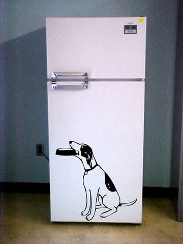 Begging Dog Decal Sticker Wall - ezwalldecals vinyl decal - vinyl sticker - decals - stickers - wall decal - jdm decal - vinyl stickers - vinyl decals - 1