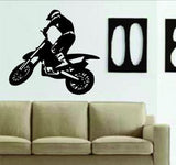 Dirtbike Rider MX X Games Version 105 Decal Sticker Wall - ezwalldecals  - vinyl decal - vinyl sticker - decals - stickers - wall decal - jdm decal - vinyl stickers - vinyl decals - 1