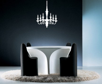 Chandelier Wall Decal Sticker - ezwalldecals  - vinyl decal - vinyl sticker - decals - stickers - wall decal - jdm decal - vinyl stickers - vinyl decals - 1
