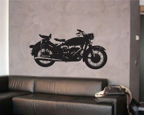 Harley Motorcycle  Wall Decal Sticker - ezwalldecals  - vinyl decal - vinyl sticker - decals - stickers - wall decal - jdm decal - vinyl stickers - vinyl decals - 1