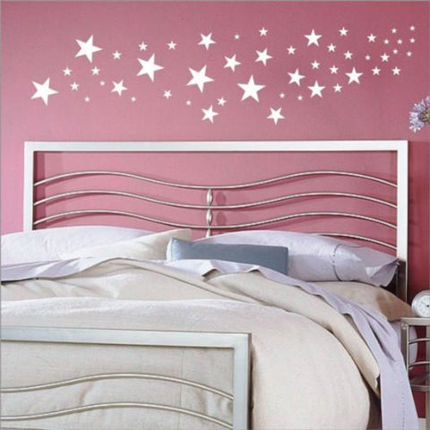 50 Stars Set  Decal Sticker Wall - ezwalldecals  - vinyl decal - vinyl sticker - decals - stickers - wall decal - jdm decal - vinyl stickers - vinyl decals - 1