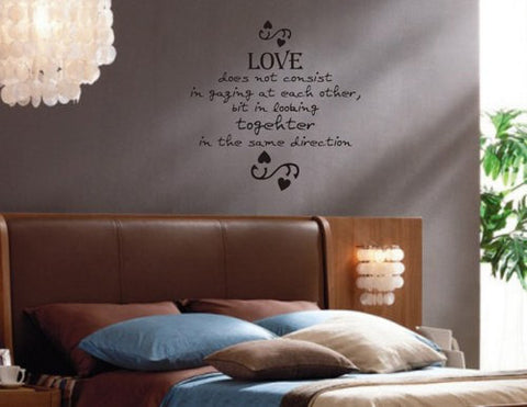 Love Does Not Consist  Quote Decal Sticker Wall - ezwalldecals  - vinyl decal - vinyl sticker - decals - stickers - wall decal - jdm decal - vinyl stickers - vinyl decals - 1