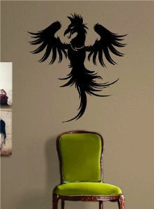 Dragonete Dragon Version 6 Decal Sticker Wall Decal Art Asian - ezwalldecals  - vinyl decal - vinyl sticker - decals - stickers - wall decal - jdm decal - vinyl stickers - vinyl decals - 1