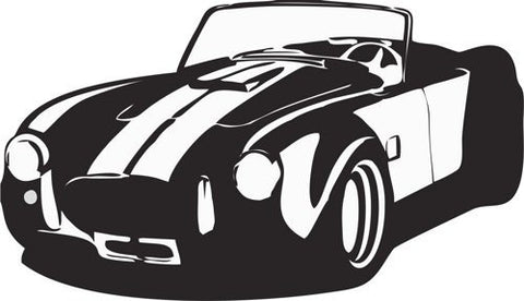 AC Cobra Decal Sticker Wall Art Graphic - ezwalldecals  - vinyl decal - vinyl sticker - decals - stickers - wall decal - jdm decal - vinyl stickers - vinyl decals - 1