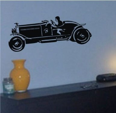 Old Car Decal Sticker Wall Art Graphic - ezwalldecals  - vinyl decal - vinyl sticker - decals - stickers - wall decal - jdm decal - vinyl stickers - vinyl decals - 1