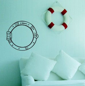 Porthole Decal Sticker Wall Art Graphic Fish Ocean Scuba Dive - ezwalldecals  - vinyl decal - vinyl sticker - decals - stickers - wall decal - jdm decal - vinyl stickers - vinyl decals - 1