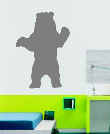 Bear Grizzly Vinyl Wall Decal  Wall Mural Decal Sticker - ezwalldecals  - vinyl decal - vinyl sticker - decals - stickers - wall decal - jdm decal - vinyl stickers - vinyl decals - 1