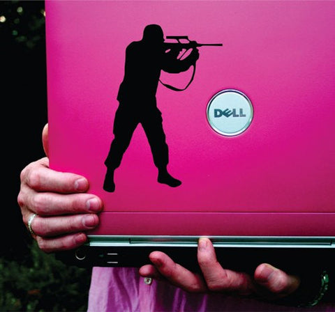 Soldier Vinyl Decal Sticker Art Graphic Sticker Laptop Car Window - ezwalldecals vinyl decal - vinyl sticker - decals - stickers - wall decal - jdm decal - vinyl stickers - vinyl decals - 1