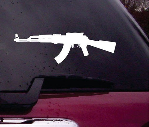 Ak-47 Decal Sticker Vinyl Decal Sticker Art Graphic Stickers Laptop Car Window AK 47 - ezwalldecals vinyl decal - vinyl sticker - decals - stickers - wall decal - jdm decal - vinyl stickers - vinyl decals - 1