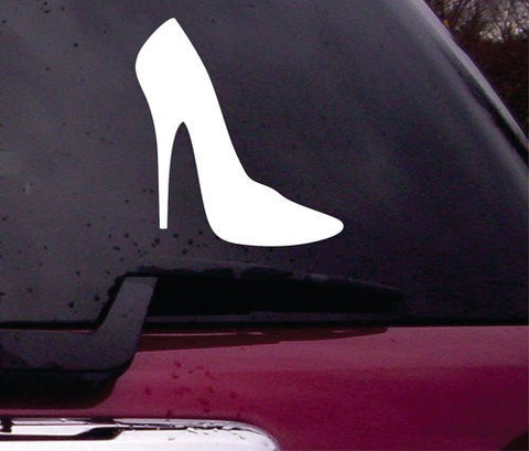 High Heel Decal Sticker Vinyl Decal Sticker Art Graphic Stickers Laptop Car Window - ezwalldecals vinyl decal - vinyl sticker - decals - stickers - wall decal - jdm decal - vinyl stickers - vinyl decals - 1