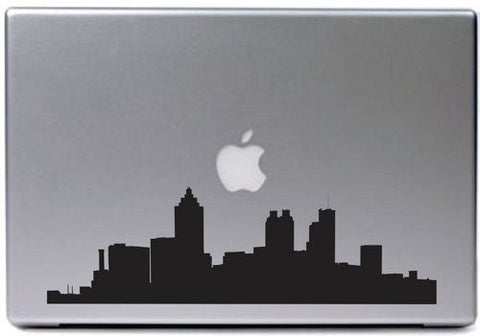 Atlanta City Skyline Decal Sticker Laptop Car Window - ezwalldecals vinyl decal - vinyl sticker - decals - stickers - wall decal - jdm decal - vinyl stickers - vinyl decals - 1