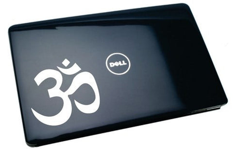 Om Symbol Laptop Decal Sticker - ezwalldecals vinyl decal - vinyl sticker - decals - stickers - wall decal - jdm decal - vinyl stickers - vinyl decals - 1