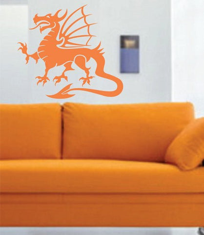 Tribal Dragon Wall Decal Sticker Mural Art Graphic Dragon Kid Boy Room Asian 101 - ezwalldecals  - vinyl decal - vinyl sticker - decals - stickers - wall decal - jdm decal - vinyl stickers - vinyl decals - 1