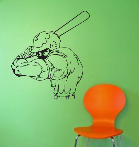 Baseball Player Version 105 Wall Vinyl Wall Decal Sticker Art Sports Kid Children Ball Nursery Boy - ezwalldecals  - vinyl decal - vinyl sticker - decals - stickers - wall decal - jdm decal - vinyl stickers - vinyl decals - 1