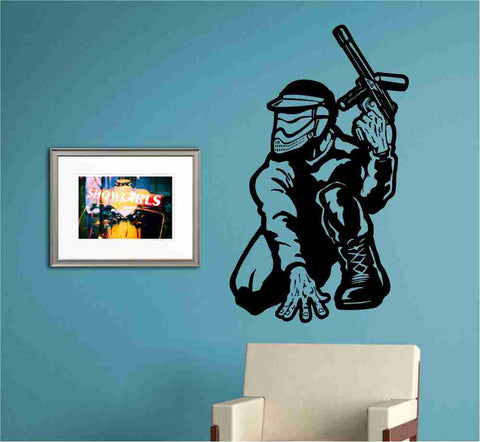 Paintballer Version 101 Sticker Wall Decal Art Graphic - ezwalldecals  - vinyl decal - vinyl sticker - decals - stickers - wall decal - jdm decal - vinyl stickers - vinyl decals - 1