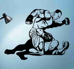 MMA Fighter Sticker Wall Decal Art Graphic - ezwalldecals  - vinyl decal - vinyl sticker - decals - stickers - wall decal - jdm decal - vinyl stickers - vinyl decals - 1