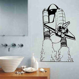 Space Shuttle Version 101 Vinyl Wall Decal Sticker Art Graphic Religous - ezwalldecals  - vinyl decal - vinyl sticker - decals - stickers - wall decal - jdm decal - vinyl stickers - vinyl decals - 1