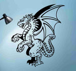Dragon Version 122 Decal Sticker Wall Art Graphic Dragons Cartoon - ezwalldecals  - vinyl decal - vinyl sticker - decals - stickers - wall decal - jdm decal - vinyl stickers - vinyl decals - 1