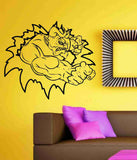 Devil Tearing Ripping Thru  Wall Vinyl Decal Sticker Art Graphic Sticker Devils Satan - ezwalldecals  - vinyl decal - vinyl sticker - decals - stickers - wall decal - jdm decal - vinyl stickers - vinyl decals - 1