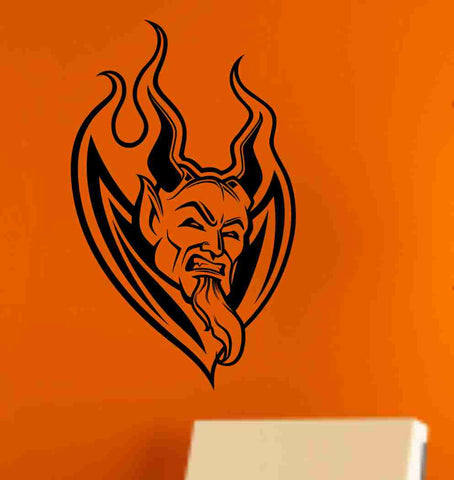 Devil Version 102 Wall Vinyl Decal Sticker Art Graphic Sticker Devils Satan - ezwalldecals  - vinyl decal - vinyl sticker - decals - stickers - wall decal - jdm decal - vinyl stickers - vinyl decals - 1