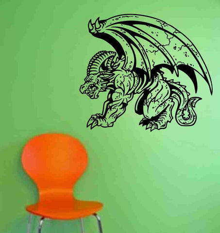 Gargoyle Version 103 Decal Sticker Wall Art Graphic Dragons Cartoon - ezwalldecals  - vinyl decal - vinyl sticker - decals - stickers - wall decal - jdm decal - vinyl stickers - vinyl decals - 1
