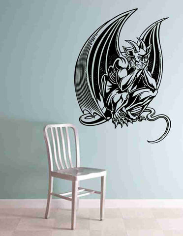 Gargoyle Version 102 Decal Sticker Wall Art Graphic Dragons Cartoon - ezwalldecals  - vinyl decal - vinyl sticker - decals - stickers - wall decal - jdm decal - vinyl stickers - vinyl decals - 1
