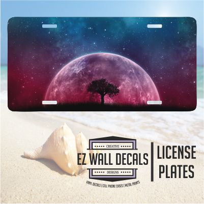 EZ Wall Decals - License Plates