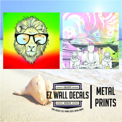 EZ Wall Decals - Metal Prints