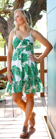 Bahama Mama Front Tie Dress