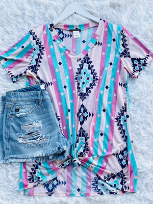 Summer Aztec Top