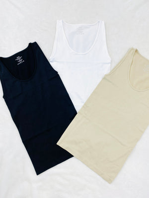 Scoop Neck Seamless Tank Top