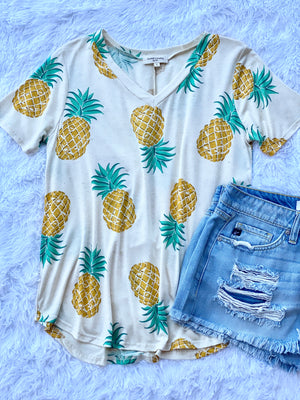 Pineapple Party Top