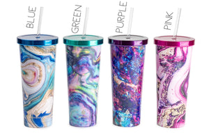 24oz Magical Rock Tumblers